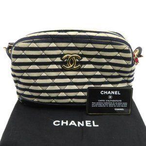 Coco Sailor Camera Shoulder Bag Quilted